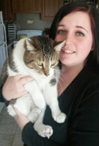 Kayla - Staff at Shiloh Veterinary Clinic in Shiloh, Illinois