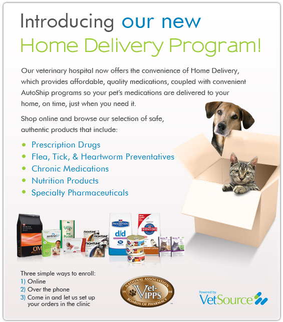 Shiloh Veterinary Clinic is Offering an Online Store for Convenient Ordering and Shipment of Supplies